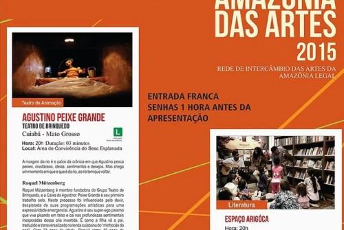 Sesc Amazônia das Artes – 15.05
