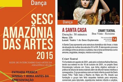 Sesc Amazônia das Artes – 19.05