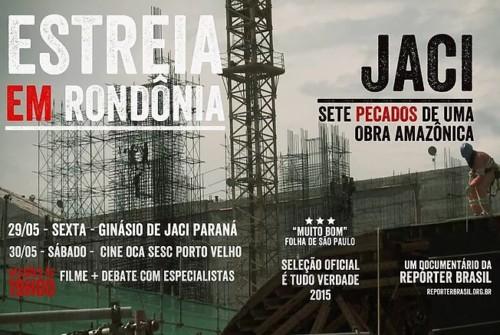 """CineOca – """"Jaci – Sete Pecados e Uma Obra Amazônica"""""""