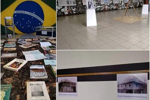 Exposição 150 anos Rondon – Patrono de Rondônia
