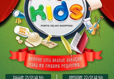 Programação de férias no Porto Velho Shopping