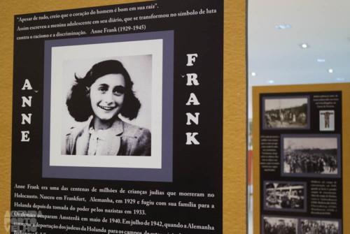 Exposição Educar para Recordar até domingo no Porto Velho Shopping