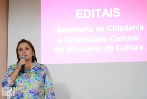 Oficina de capacitação para editais do MinC em Porto Velho