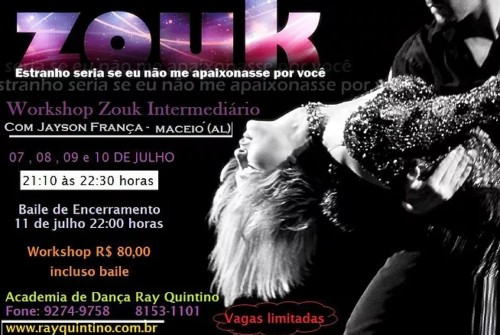 Workshop Zouk Intermediário