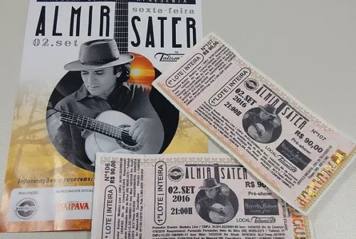 Concorra a ingresso para o show do Almir Sater