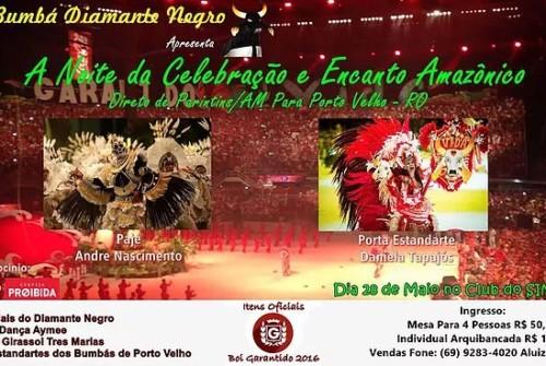 Noite da Celebração e Encanto Amazônico
