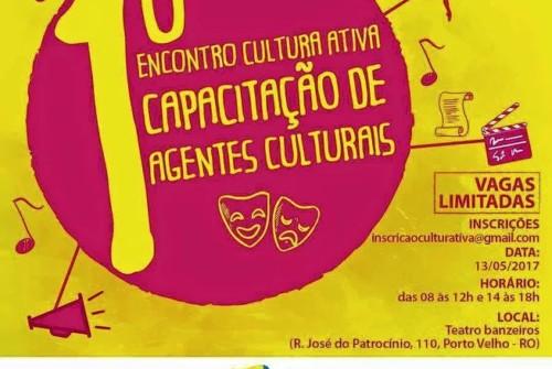 Inscrições abertas para curso de capacitação de agentes culturais