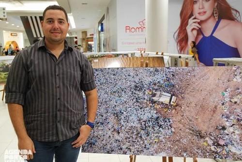 Exposição Céus de Rondônia no Porto Velho Shopping