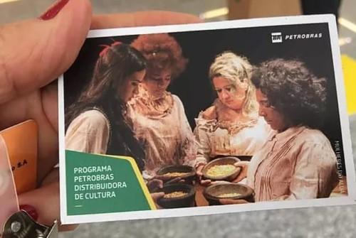 As mulheres do Aluá participa de exposição da Petrobras e inicia temporada