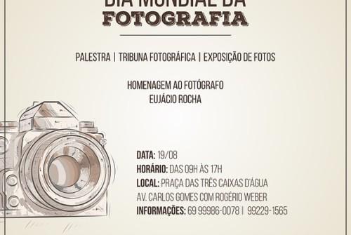 A Fotografia na Praça comemora o Dia Mundial da Fotografia