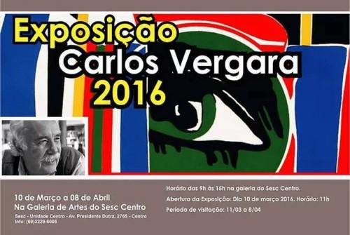 Exposição de Carlos Vergara