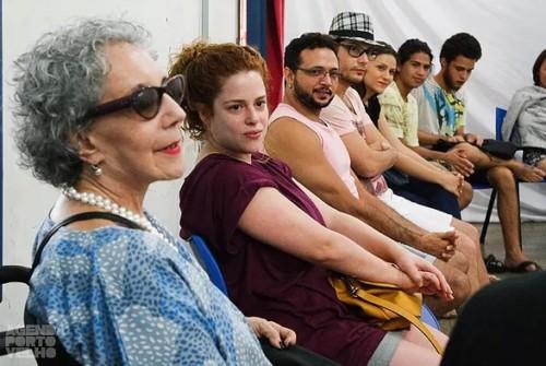 Palco Giratório: Maria Alice Vergueiro no encerramento da programação