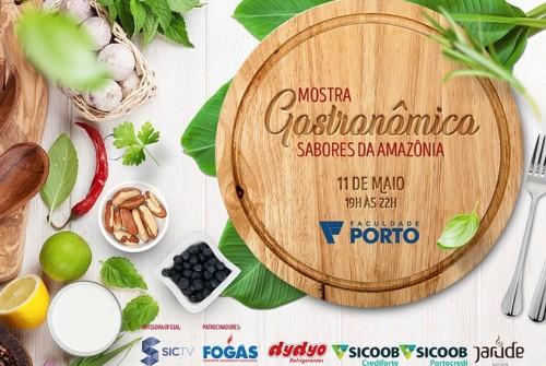 Mostra Gastronômica Sabores da Amazônia na Faculdade Porto