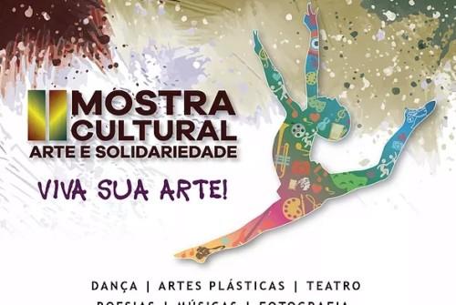 Show Artes Visuais Cinema Dança Teatro Edital Inscrições abertas para a II Mostra Cultura Arte e Solidariedade