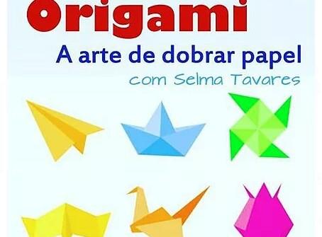Oficina de Origami na Livraria Leitura