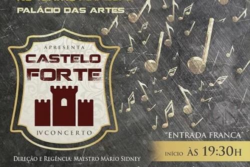 Espetáculo Castelo Forte com a Orquestra Harmonia Celeste