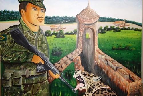 Premiação III Concurso de Pintura Brigada Príncipe da Beira