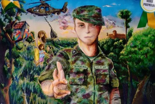 Exposição III Concurso de Pintura da 17ª Brigada de Infantaria de Selva