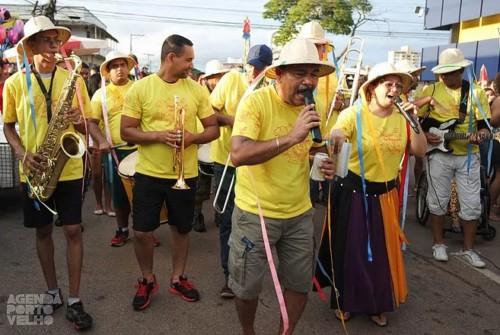 Carnaval 2016: Pirarucu do Madeira desfila pelas ruas do centro