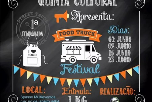 Quinta cultural – Food Truck Festival