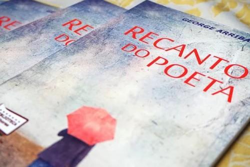 """Noite de autógrafos """"Recanto do Poeta"""" com George Arribas"""