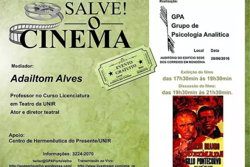 Salve! O cinema
