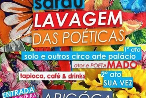 Sarau Lavagem das Poéticas