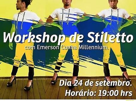 Workshop de Stilletto hoje a noite