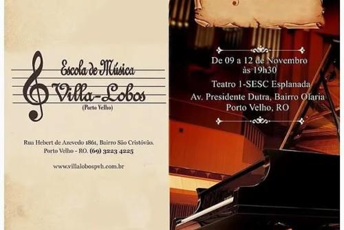 19º Recital Anual da Escola de Música Villa-Lobos