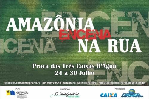Festival Amazônia Encena na Rua começa na Três Caixas D Água