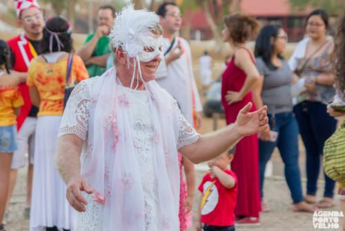 Tradicional cortejo de artistas abre 10ª edição do Festival Amazônia Encena na Rua