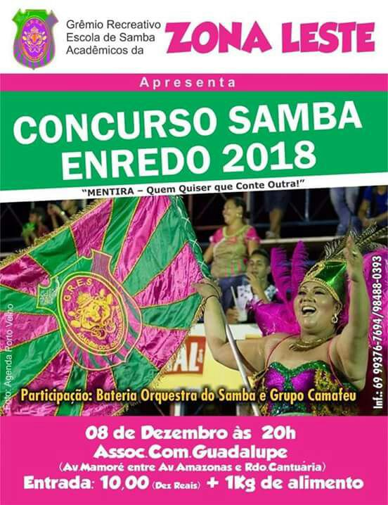 Escolha de Samba enredo da Acadêmicos da Zona Leste