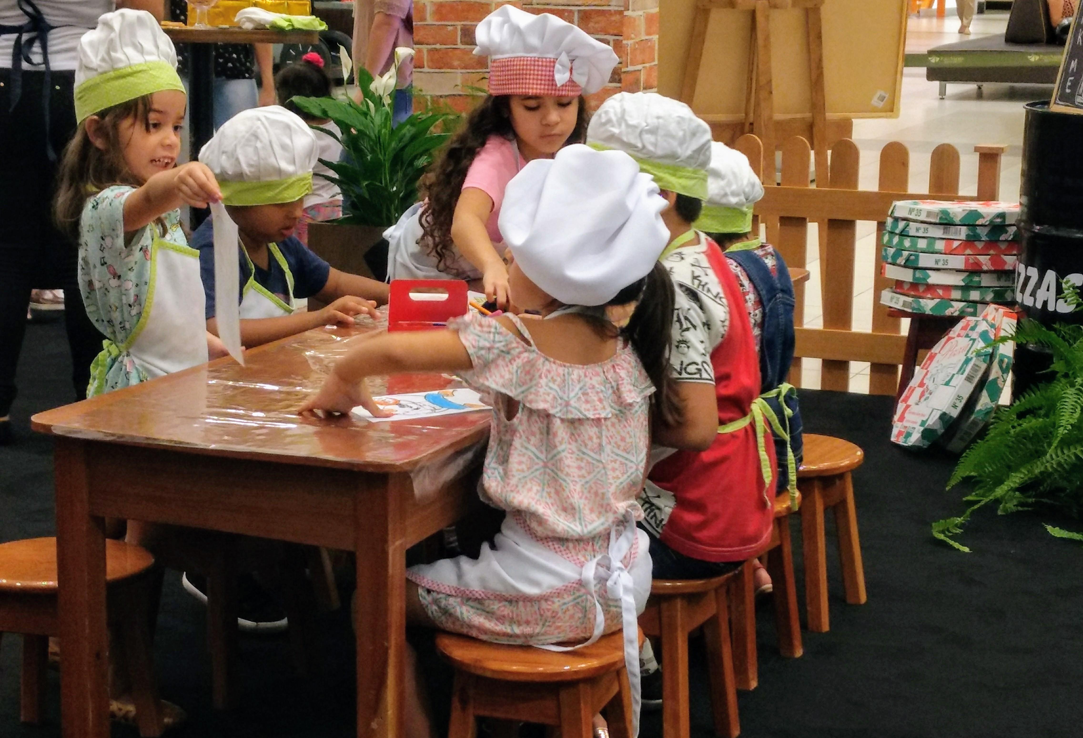 Oficina Kids Gourmet no Porto Velho Shopping
