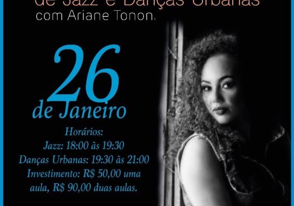 Workshop de Jazz e Danças Urbanas